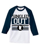 Image of Singled Out: Baseball Tee