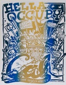 Image of Hella Occupy CAL Berkeley Silk Screened Poster