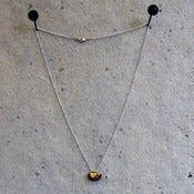 Image of Leather Bale necklace by Re-Elle