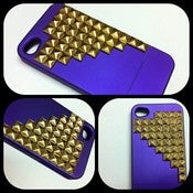 Image of Purple and Gold studded Iphone 4 | 4s Case