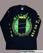 "Image of ""I Still Get It In Ohio"" Long Sleeve (Blue and Green print)"