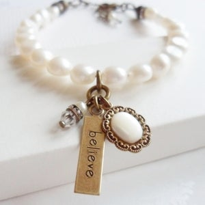 Image of Truly Believe Charm Bracelet