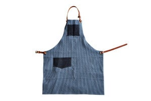 Image of Shop Apron (Engineers Stripe)