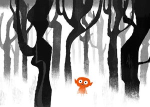 "Image of ""Lost in the Woods"" Print"