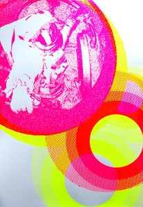 Image of Astronaut 7 silkscreen poster