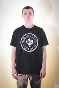 Image of Cat death T-shirt - Black