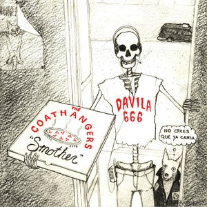 Image of The Coathangers &amp; Davila 666, &quot;Smother&quot; 7&quot; 