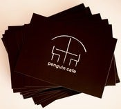 Image of Penguin Cafe Logo 4 Postcard set