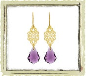 Jewelry: &quot;Amethyst Swarovski&quot;