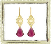 Jewelry: &quot;Ruby Swarovski&quot;