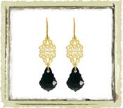 Jewelry: &quot;Black Swarovski&quot;