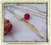 Jewelry: &quot;Lauren&quot; in Cherry