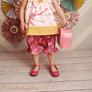 Image of Pretty Pantaloons for Baby - Baby Bloomers Sewing Pattern PDF