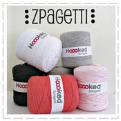 Image of Hoooked Zpagetti Yarn - basic block colours