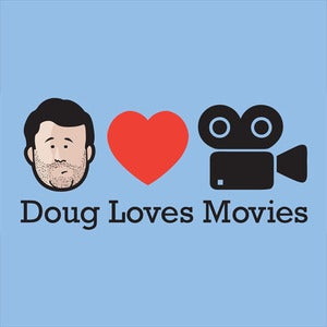 Image of Doug Loves Movies T-Shirt - Blue