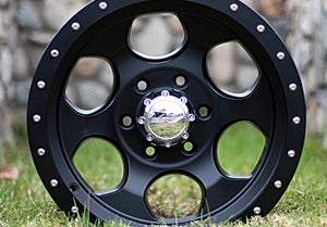 Image of 17x8 Black Finish Robby Gordon Signature Series Wheel