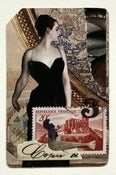 Image of Metro card collage The Black Dress