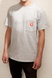 Image of OSS Pocket tee (grey and orange)