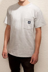Image of OSS Pocket tee (grey and black)