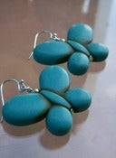 Image of Turquoise Butterfly Earrings