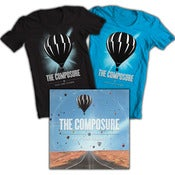 Image of The Composure<br>'Stay The Course'<br>CD & T-Shirt