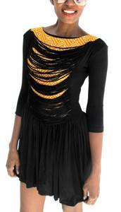 Image of The 'BARAKA' Skater Dress (Yellow)