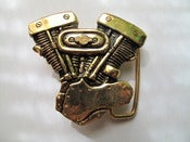 Image of HD Shovelhead Belt Buckle