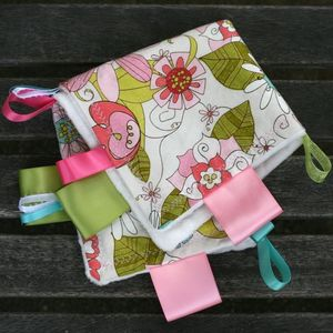 "Image of ""Sugar&Spice"" Ribbon Blankies - 5 GIRL COLORS"