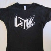 Image of Low Budget – Ladies' T-Shirt (Glow-in-the-Dark print)