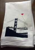 Image of San Francisco Lover's Tea Towel