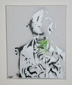 Image of Toile Joker Pochoir / Joker Stencil Canvas
