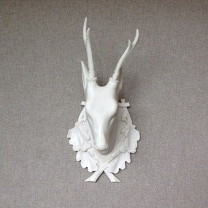 Image of Alabaster Stag Head