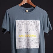 Image of Organic T-Shirt : Earth Ocean