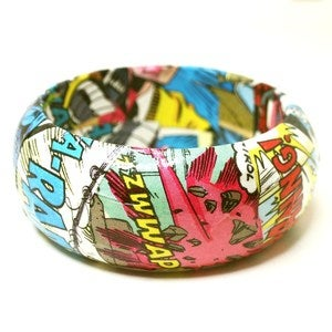 Image of Comic Book Bangle