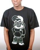 Image of Cartoon Tee: Black