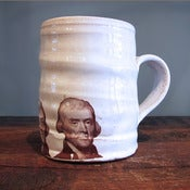 Image of Thomas Jefferson Mug by Justin Rothshank