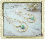 Jewelry: &quot;Sara&quot; in Mint Green