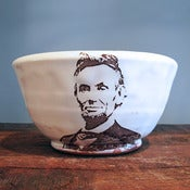 Image of Abraham Lincoln Bowl by Justin Rothshank