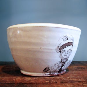 Image of Barney Fife Bowl by Justin Rothshank