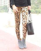 Image of Super Soft Leopard Print Legging