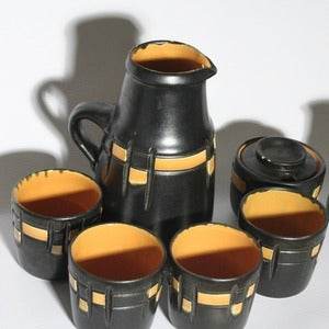 Image of Vintage Jug & Cup set - 7 pieces