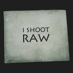 Image of Lens Cloth - I Shoot RAW