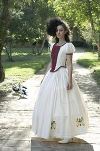 Image of Bonnie Lass Scottish Gown With Your Clan Tartan