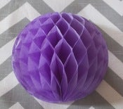 Image of Small Lavender Honeycomb Ball