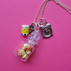 Image of Tea Time Charm Necklace 20% Off!