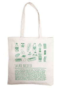 Image of salad nicoise - grocery bag