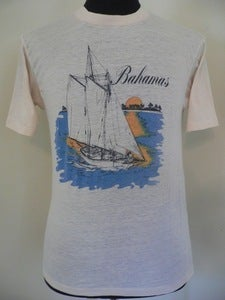 Image of 70s Bahamas sailing T shirt