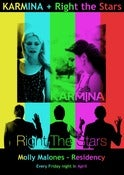 Image of Karmina + Right the Stars (Multicolor) - Limited Edition Poster