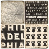 Image of Philadelphia coasters (group 2)