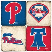 Image of Phillies Marble Coasters